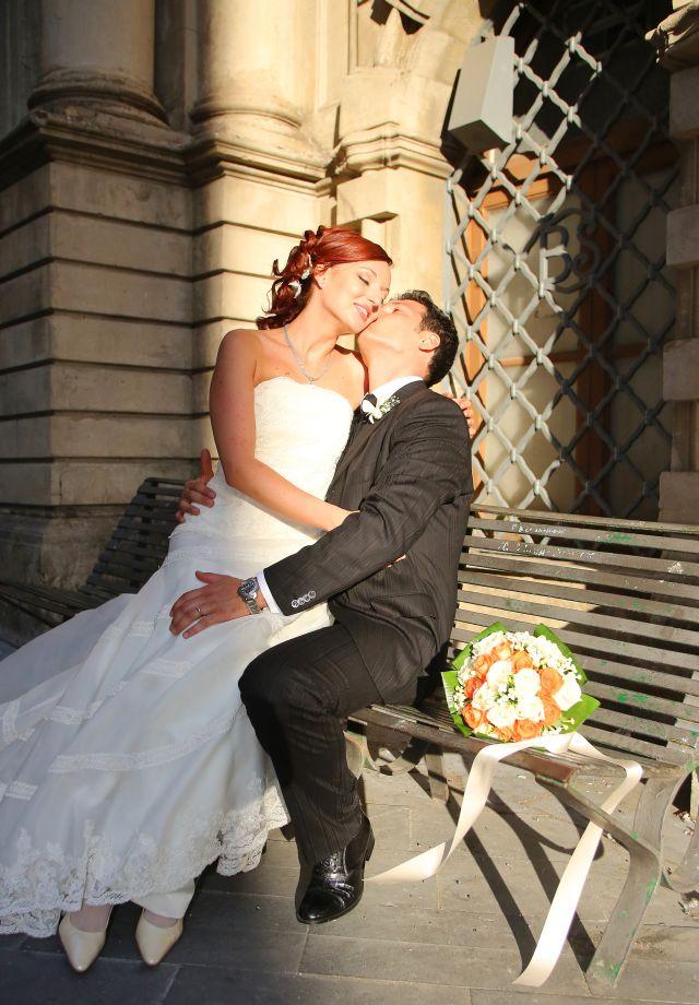Ritratto spontaneo sposi caltagirone