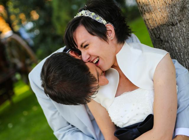 ritratto sposi matrimonio Trattoria Rosetta di Capergnanica.