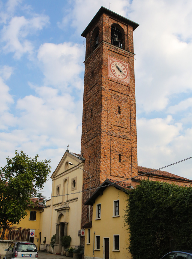 Chiesa di Mirazzano Santi Cosma e Damiano Peschiera Borromeo foto matrimonio
