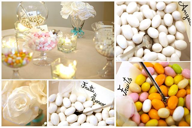 i piccoli particolari che possono personalizzare un matrimonio per dare un tocco di originalità alle nozze foto dei confetti colorati