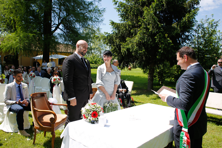 nozze all'aperto