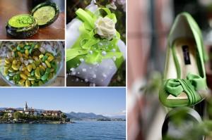 Matrimonio in verde, Isola dei pescatori, Stresa