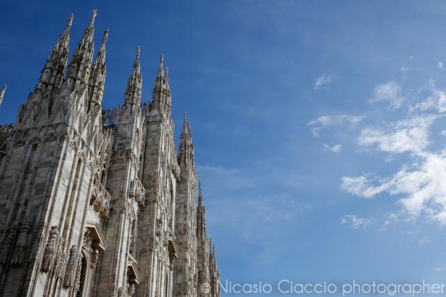 corsi fotografia, imparare a usare la macchina fotografica e realizzare belle foto, Duomo di milano