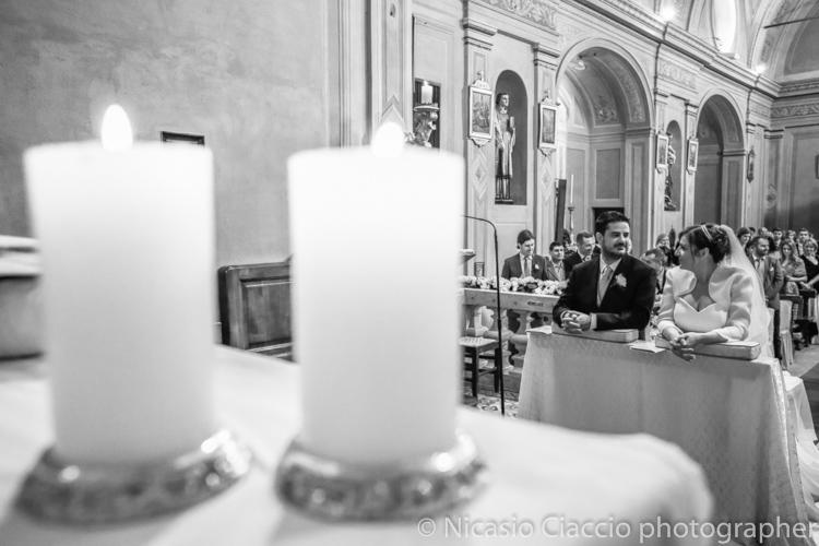 sposi e candele