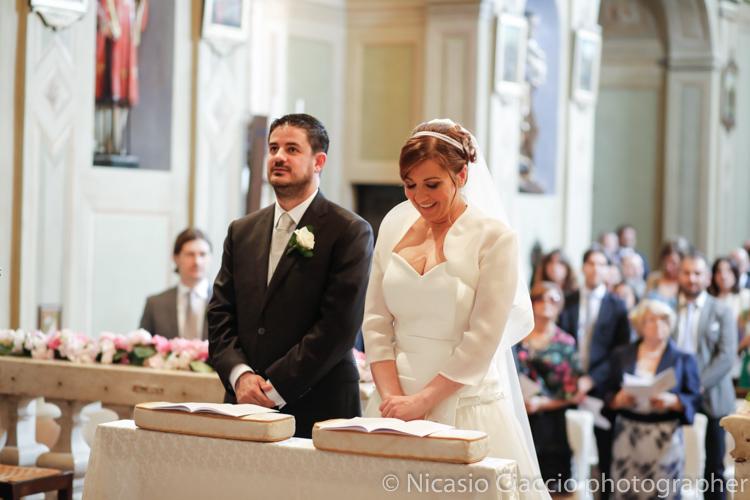 sposi nella Chiesa di San Lorenzo a Quistro di Dosimo