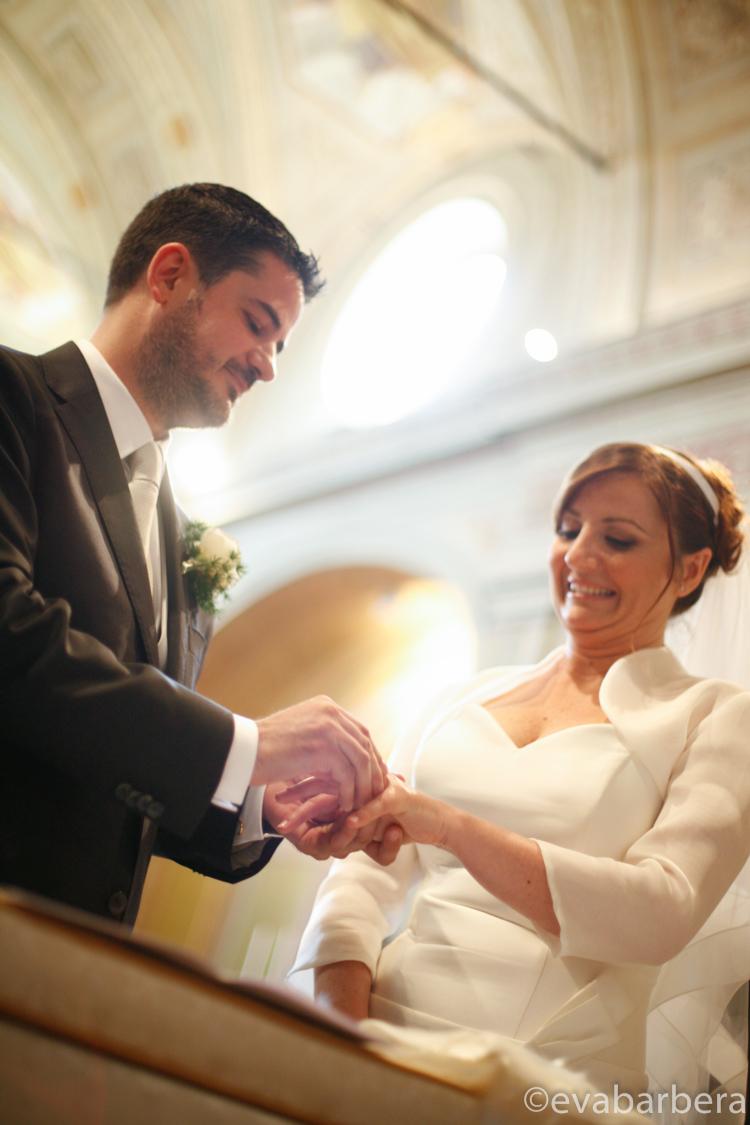 Foto Matrimonio Cremona scambio fedi sposi