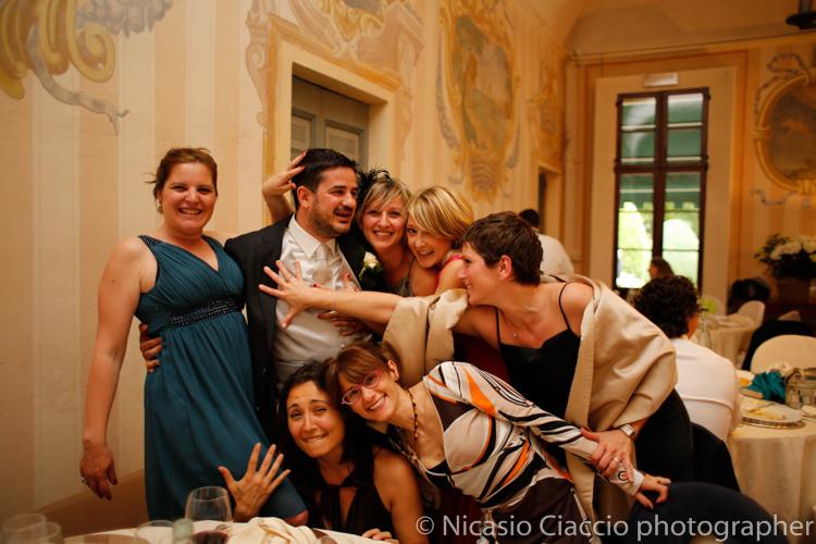 Foto sposo Matrimonio Villa Calciati presso Persico Dosimo.