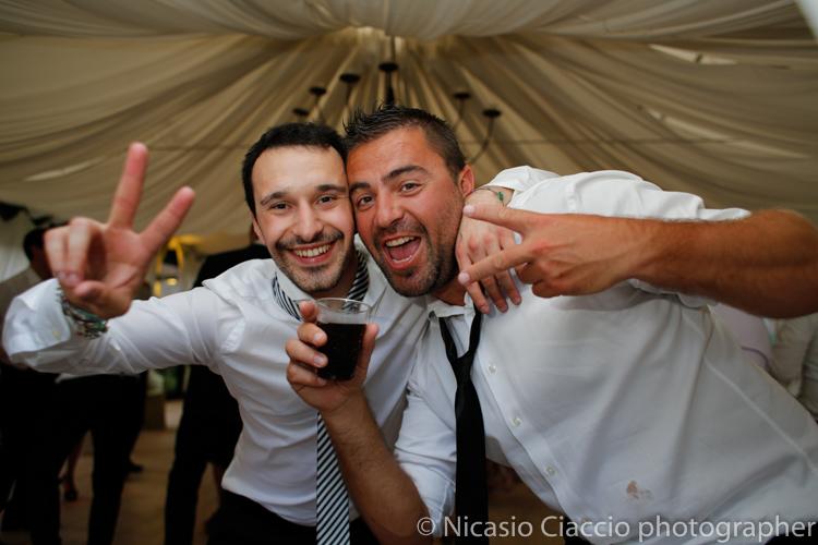 foto invitati matrimonio villa calciati
