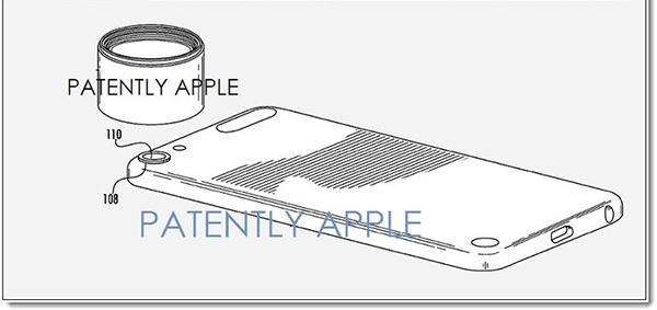 Apple brevetta un Attacco per lenti aggiuntive su iPhone