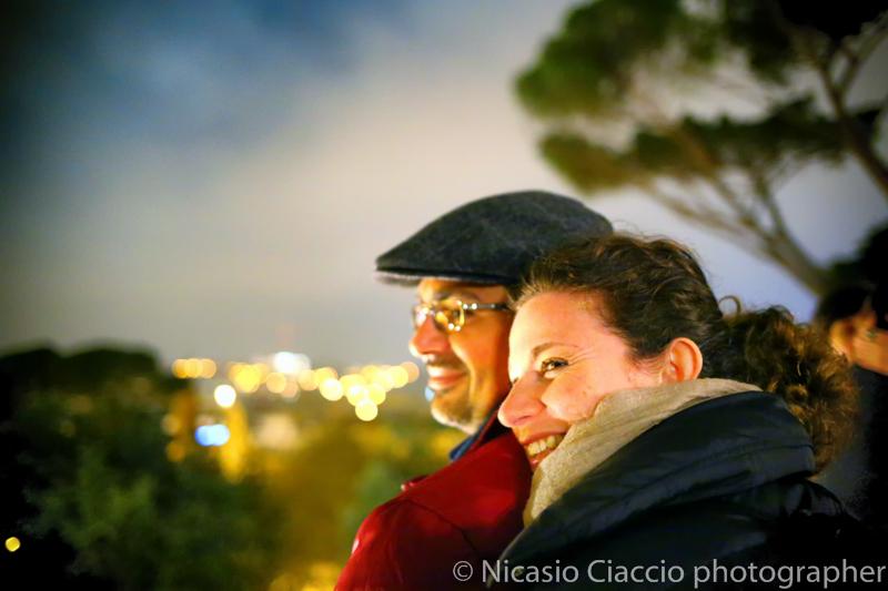 Shooting a Roma, il pincio