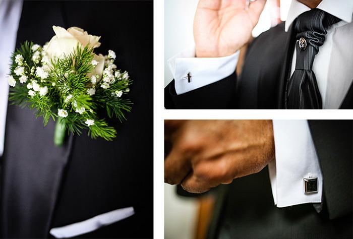 Particolari sposo