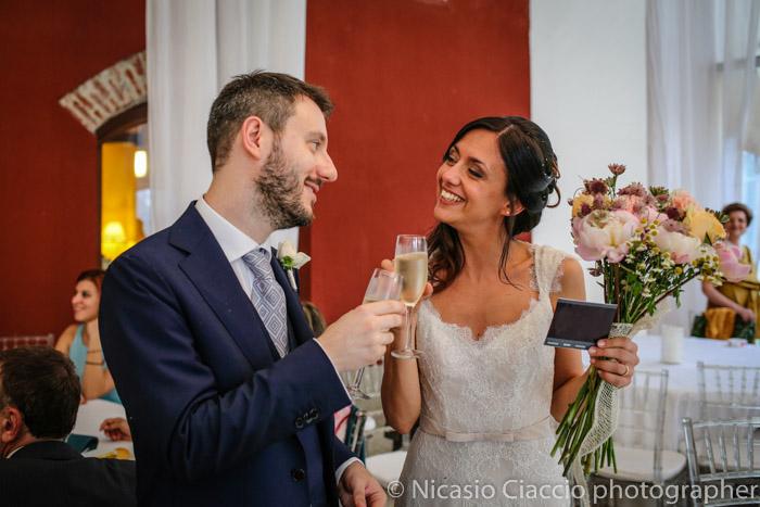 brindisi sposi matrimonio Golf Club San Vito a Gaggiano