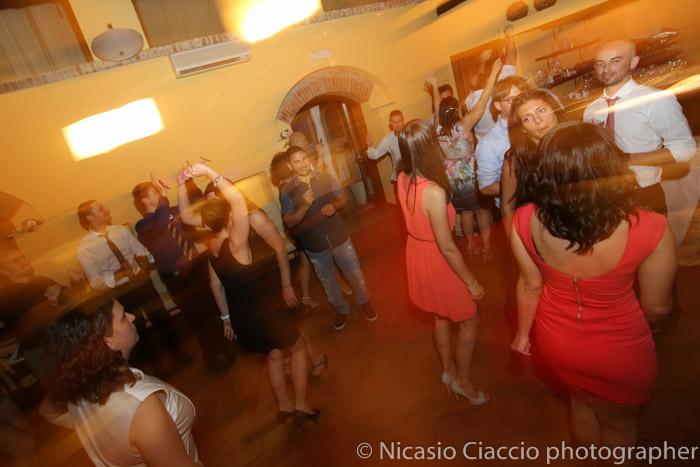balli durante matrimonio Golf Club San Vito a Gaggiano