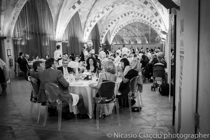 sala principale Fortezza Viscontea foto ricevimento matrimonio