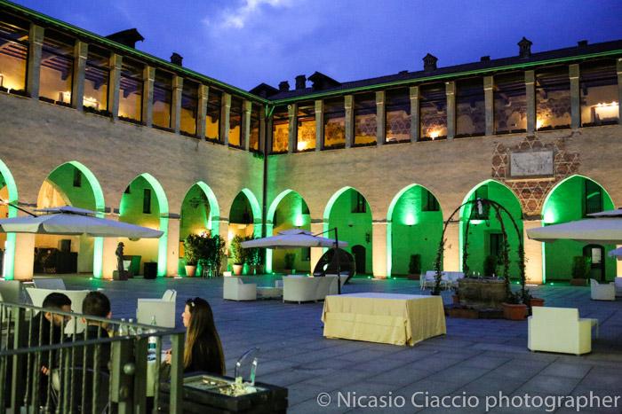 foto serale matrimonio fortezza viscontea fotografo milano