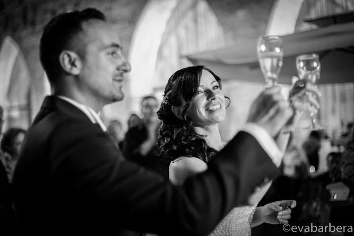 brindisi sposi Foto matrimonio Fortezza Viscontea,