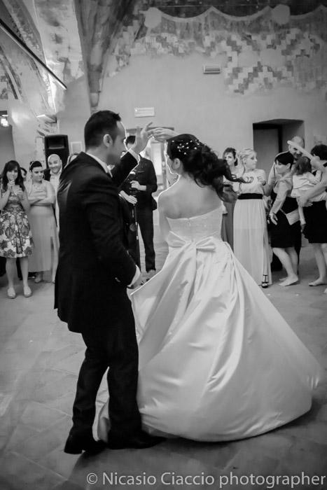 balli sposi Foto all'interno delle sale della Fortezza Viscontea,