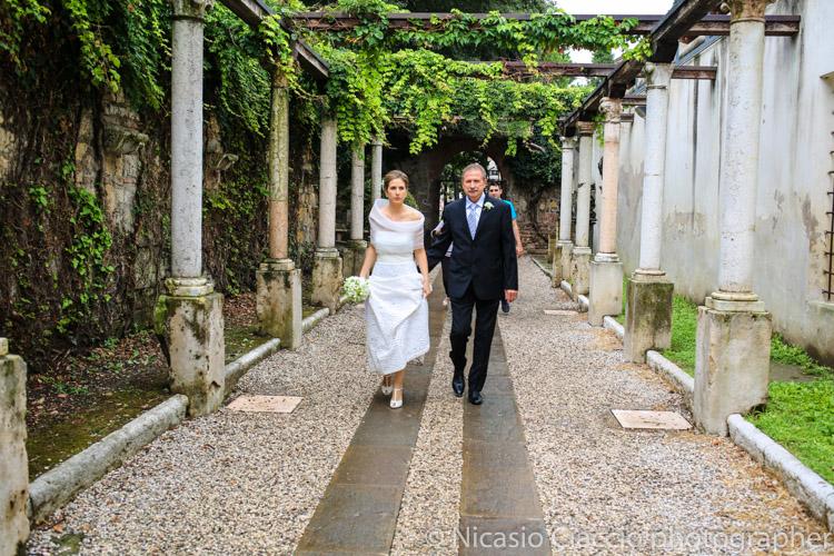 Ingresso sposa - matrimonio a verona