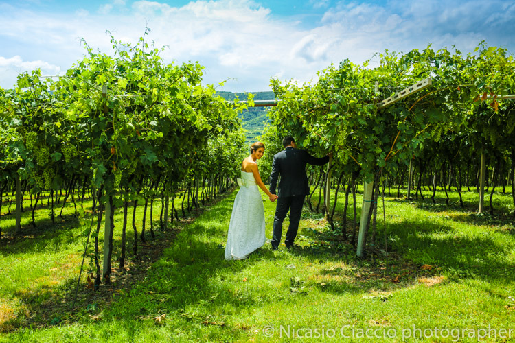 foto matrimonio fra le vigne