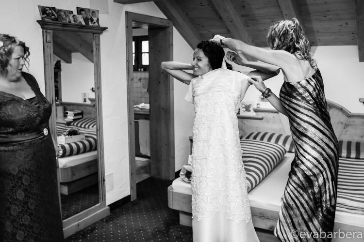 qualche difficoltà vestito sposa