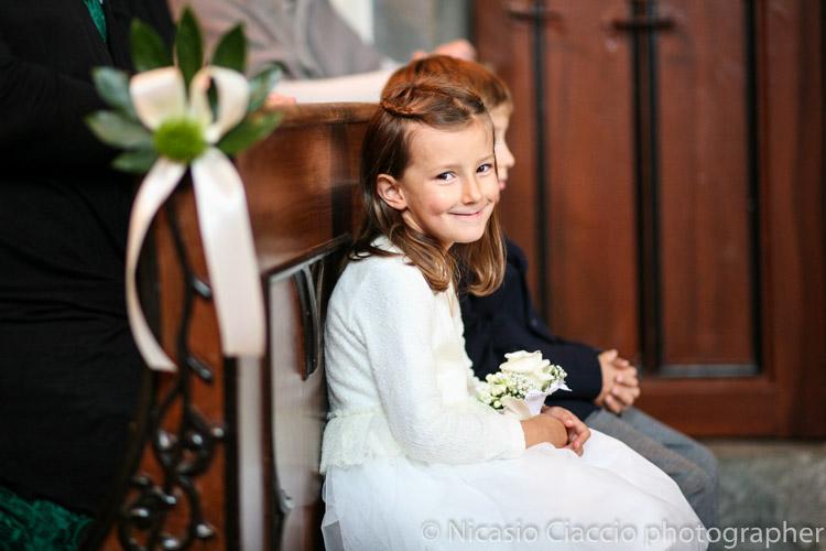 foto matrimonio damigella