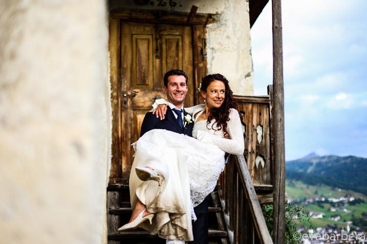 Reportage di matrimonio Alta Val Badia