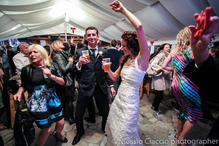 balli durante  matrimonio Alta Val Badia - Fotografo Trentino