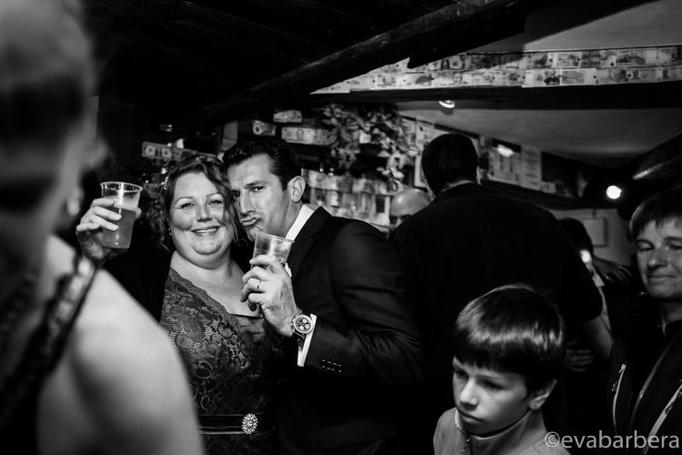 foto amici matrimonio Alta Val Badia