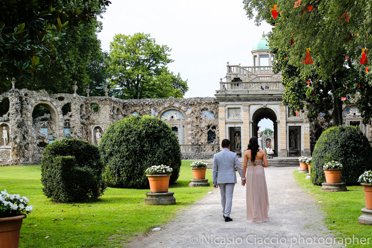 Matrimonio Villa Visconti Borromeo Litta a Lainate in provincia di Milano