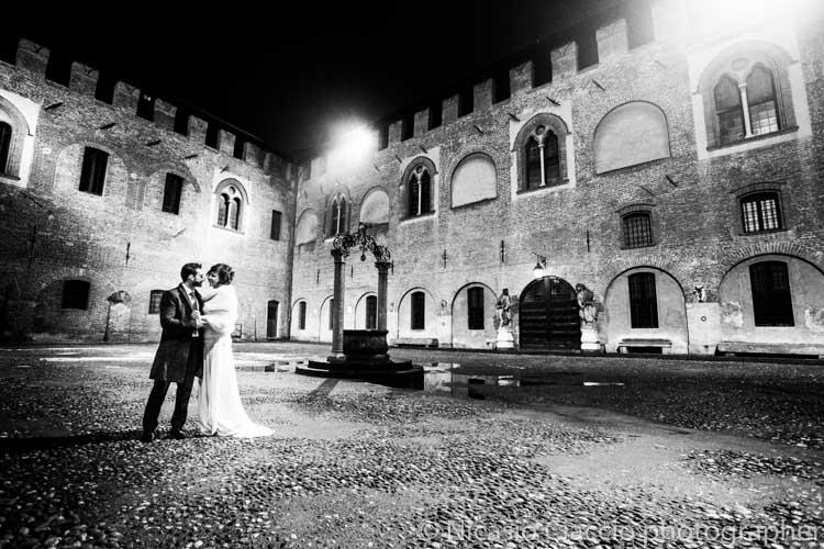 Matrimonio Sant'Angelo Lodigiano, foto in esterni del castello