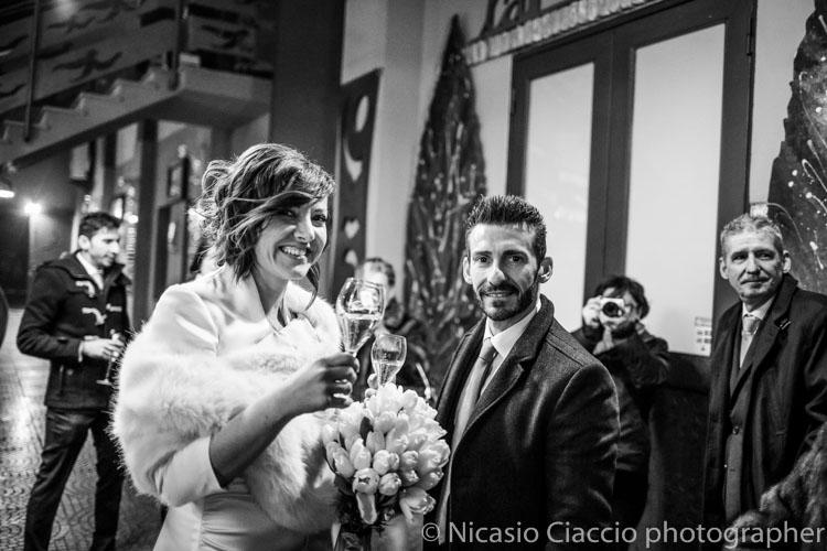 Matrimonio a Sant'Angelo Lodigiano brindisi iniziale