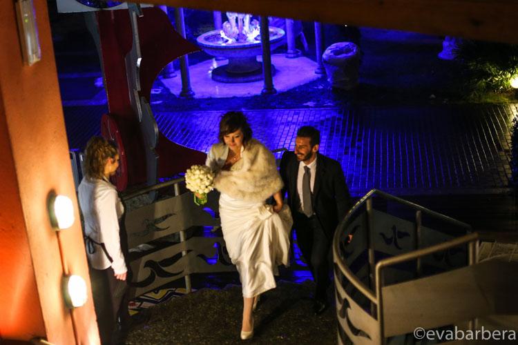 matrimonio lodi ingresso al ristorante