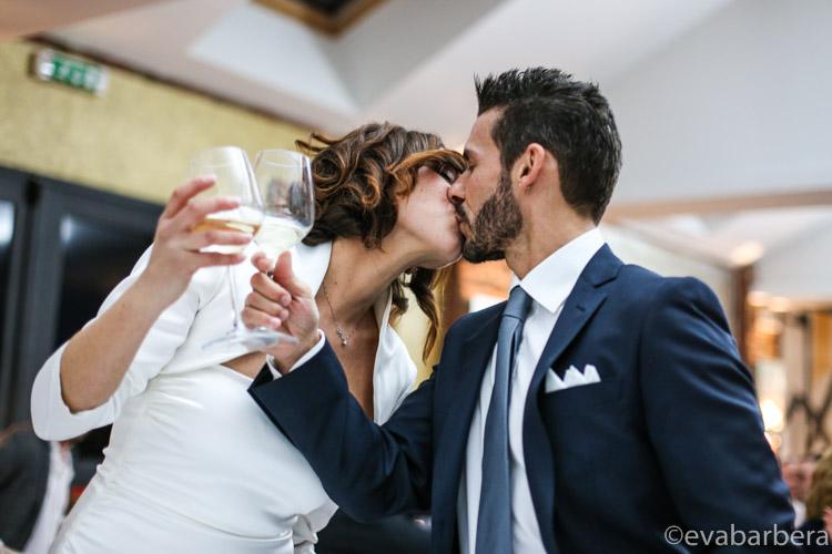 matrimonio lodi  bacio sposi