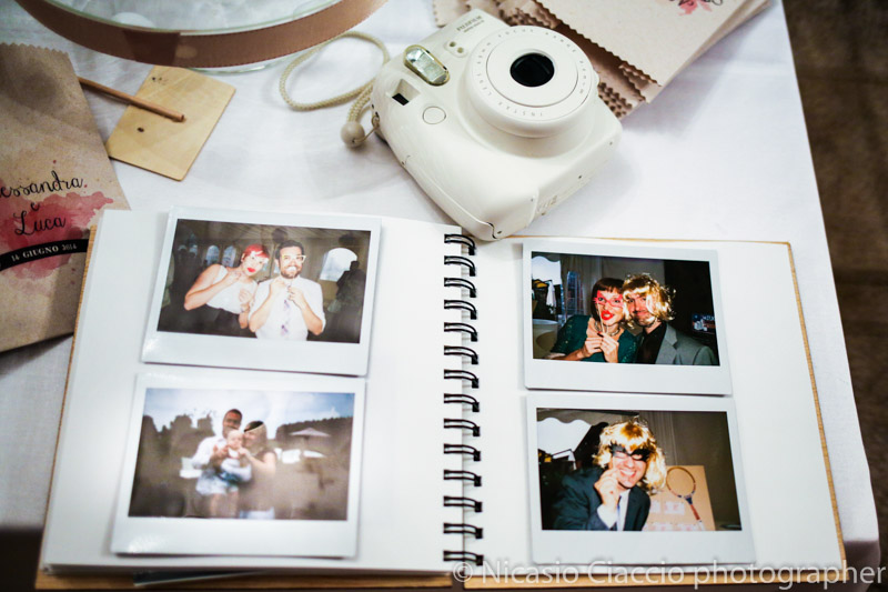 Wedding photo booth album