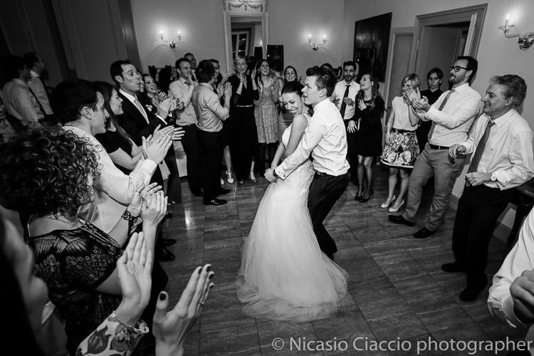 Foto Matrimonio Villa Acquaroli,  balli sposa