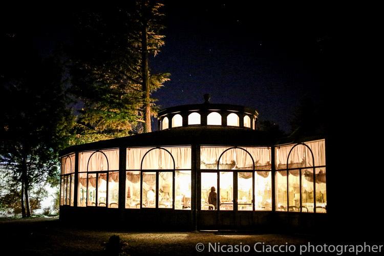 Foto Matrimonio Villa Acquaroli, foto notturna con stelle