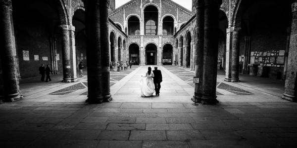 Foto Matrimonio Sant Ambrogio Milano – Letizia e Domenico