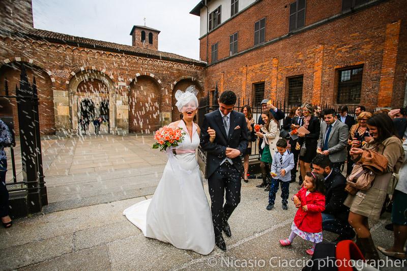 foto lancio del riso sposi matrimonio-Milano-015