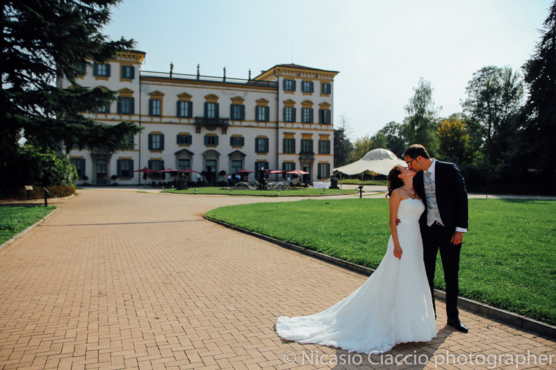 foto matrimonio-Milano-Villa San Carlo Borromeo Senago
