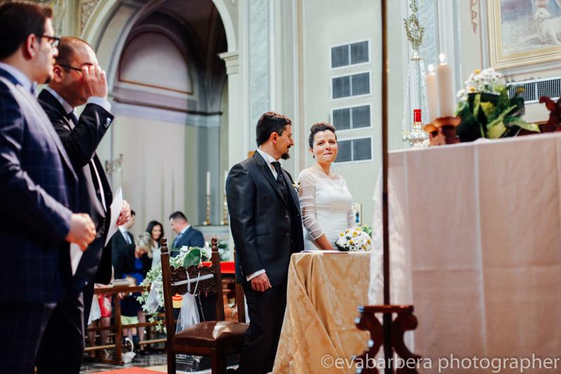 Emozione della sposa -Matrimonio Molino Santa Marta