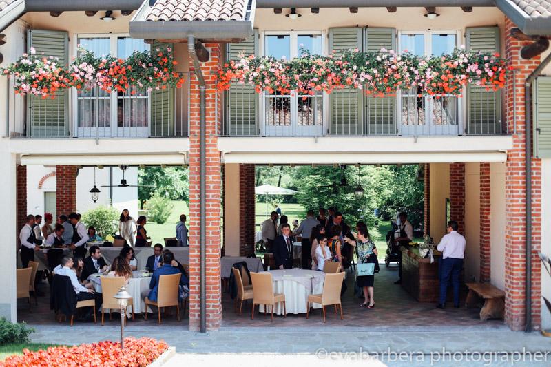 Foto matrimonio Molino Santa Marta - invitati