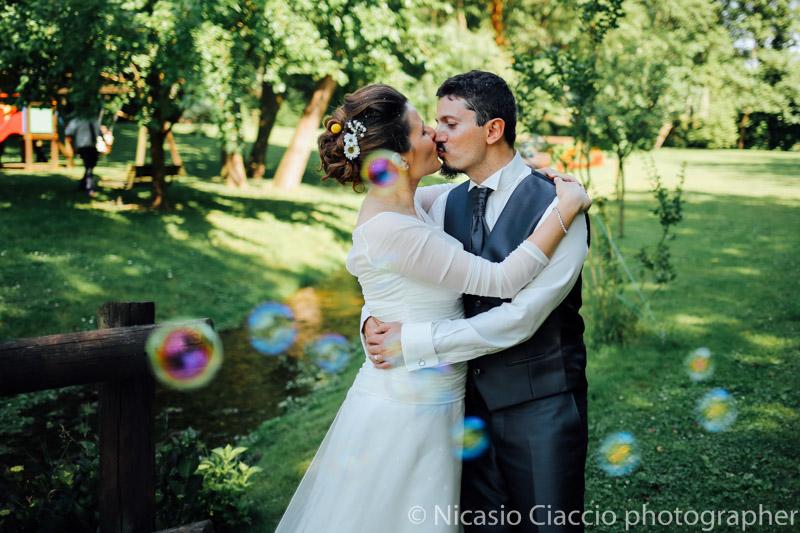 Foto matrimonio Molino Santa Marta - Ritratto sposi