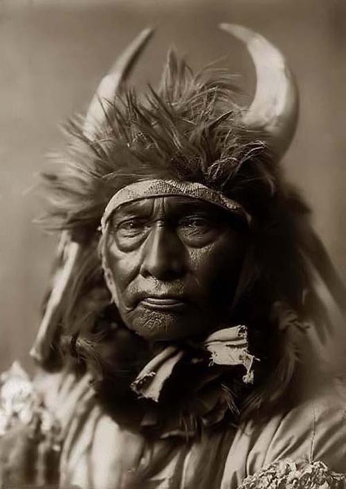 ritratto indiano d'america