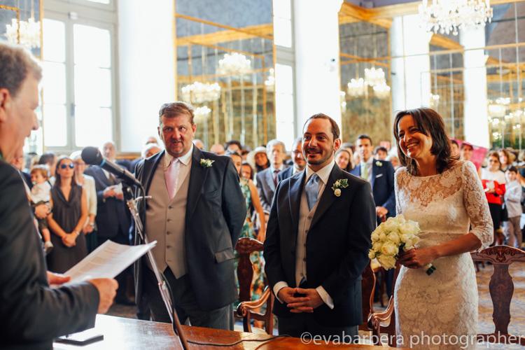 Palazzo reale sala degli specchi -foto matrimonio milano officine del volo