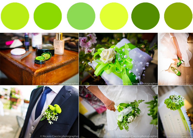 il colore perfetto per il matrimonio