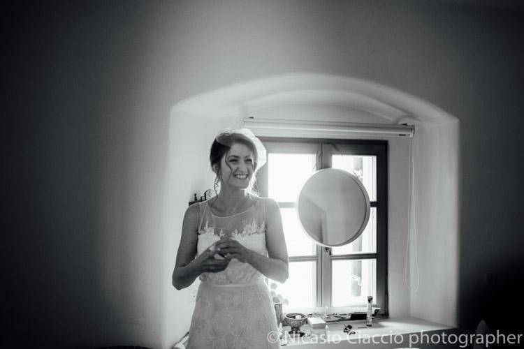 La sposa e pronta, si parte con gioia verso le nozze