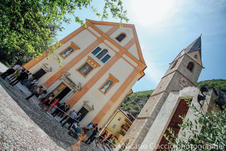 Chiesa di san Geltrude, Magrè sulla strada del vino - fotografo matrimonio trentino