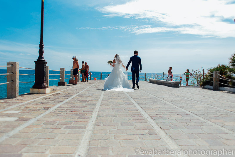 Foto matrimonio sul mare