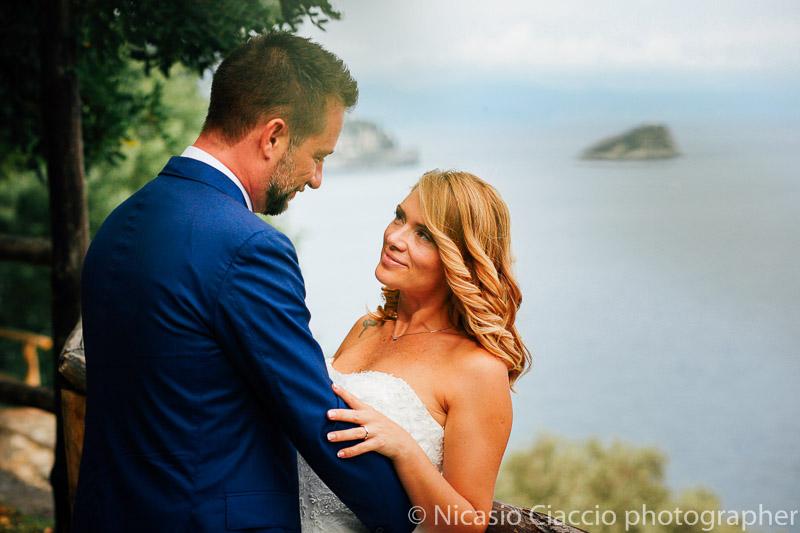 Foto matrimonio sul mare liguria