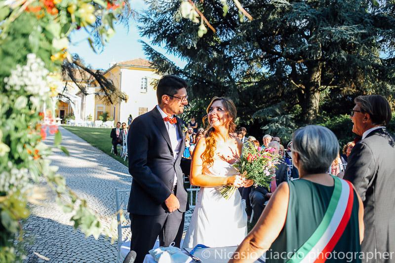 sposi presso tenuta pegazzera
